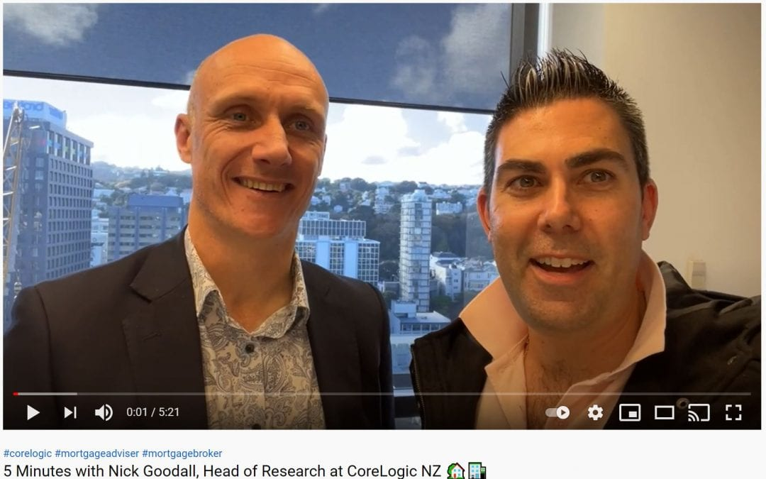 5 Minutes with Nick Goodall, Head of Research at CoreLogic NZ 🏡🏦